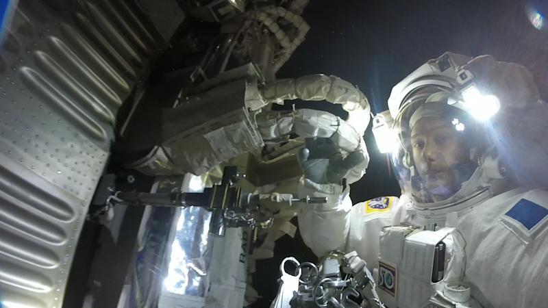 Astronaut Captures Stunning GoPro Footage During Spacewalk
