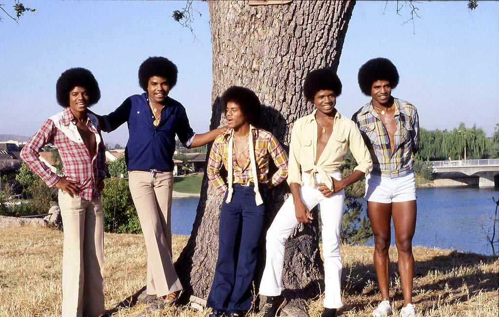 "Michael (far left) and his brothers rocked some serious fros in the '70s as they dominated the Billboard charts with hit singles such as ""ABC"" and ""I'll Be There."" Gregg Cobarr/<a href=""http://www.wireimage.com"" target=""new"">WireImage.com</a> - August 17, 1978"