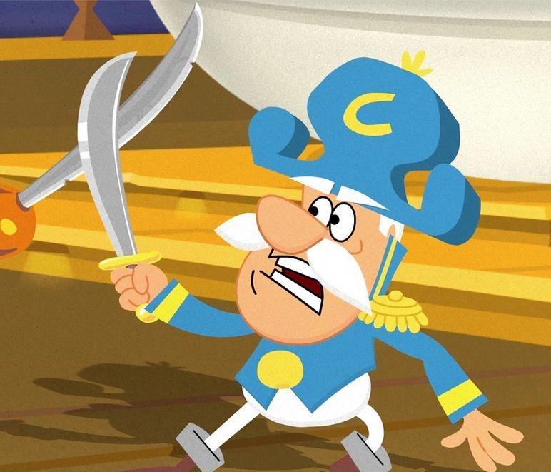 """Even if he is really a <a href=""""http://www.huffingtonpost.com/foodbeast/today-i-learned-capn-crun_b_3453641.html"""" target=""""_blank"""">Commander instead of a Captain</a>, we love this cereal mascot."""