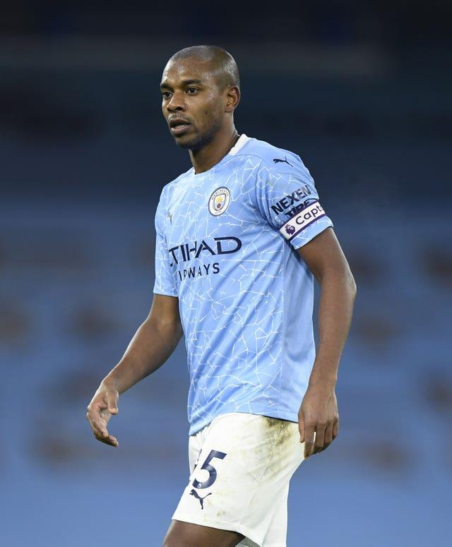 Fernandinho remains a strong presence in the City dressing room