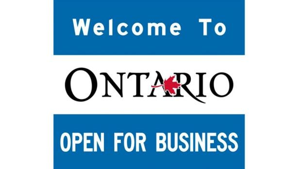 'Open for business' signs will cost Ontario taxpayers $106K