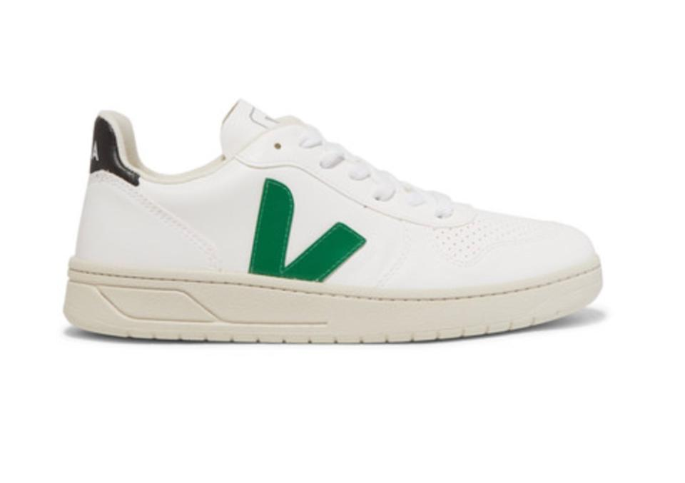 V-10 Bastille vegan leather sneakers. (Photo: Net-A-Porter)