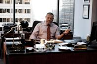 """This film publicity image released by Warner Bros. Pictures shows Laurence Fishburne as Perry White in """"Man of Steel."""" (AP Photo/Warner Bros. Pictures, Clay Enos)"""