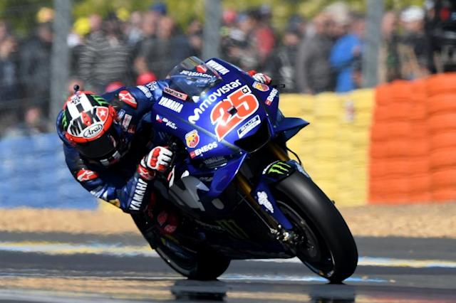 Maverick Vinales won at Le Mans in 2017 (AFP Photo/Jean-Francois MONIER)