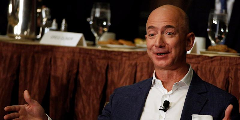 jeff bezos happy