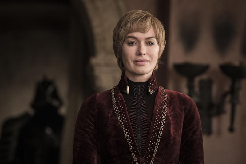Cersei, looking Cersei-ish.  (Photo: Helen Sloan/HBO)