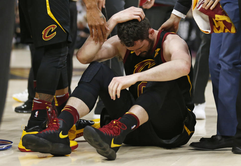 An Advil is probably not solving this. (AP Photo)