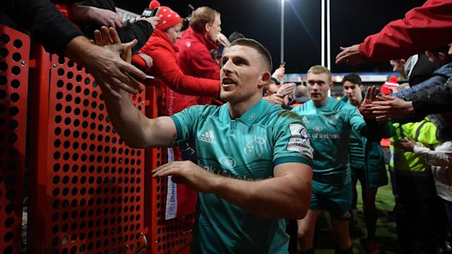 Munster were delighted to have Andrew Conway back in Pro14 action as he settled an all-Irish affair with Ulster.