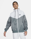 """<p><strong>nike</strong></p><p>nike.com</p><p><strong>$100.00</strong></p><p><a href=""""https://go.redirectingat.com?id=74968X1596630&url=https%3A%2F%2Fwww.nike.com%2Ft%2Fsportswear-windrunner-mens-hooded-jacket-5hK13x&sref=https%3A%2F%2Fwww.menshealth.com%2Fstyle%2Fg26014395%2Fbest-spring-jackets-men%2F"""" rel=""""nofollow noopener"""" target=""""_blank"""" data-ylk=""""slk:BUY IT HERE"""" class=""""link rapid-noclick-resp"""">BUY IT HERE</a></p><p>This windbreaker was formulated for running, but is sleek enough to wear purely on a style basis. It has a little bit of a vintage feel and a cool, '80s-esque color that's reminiscent of sunny days ahead. As a bonus, it's made of completely recycled materials.</p>"""