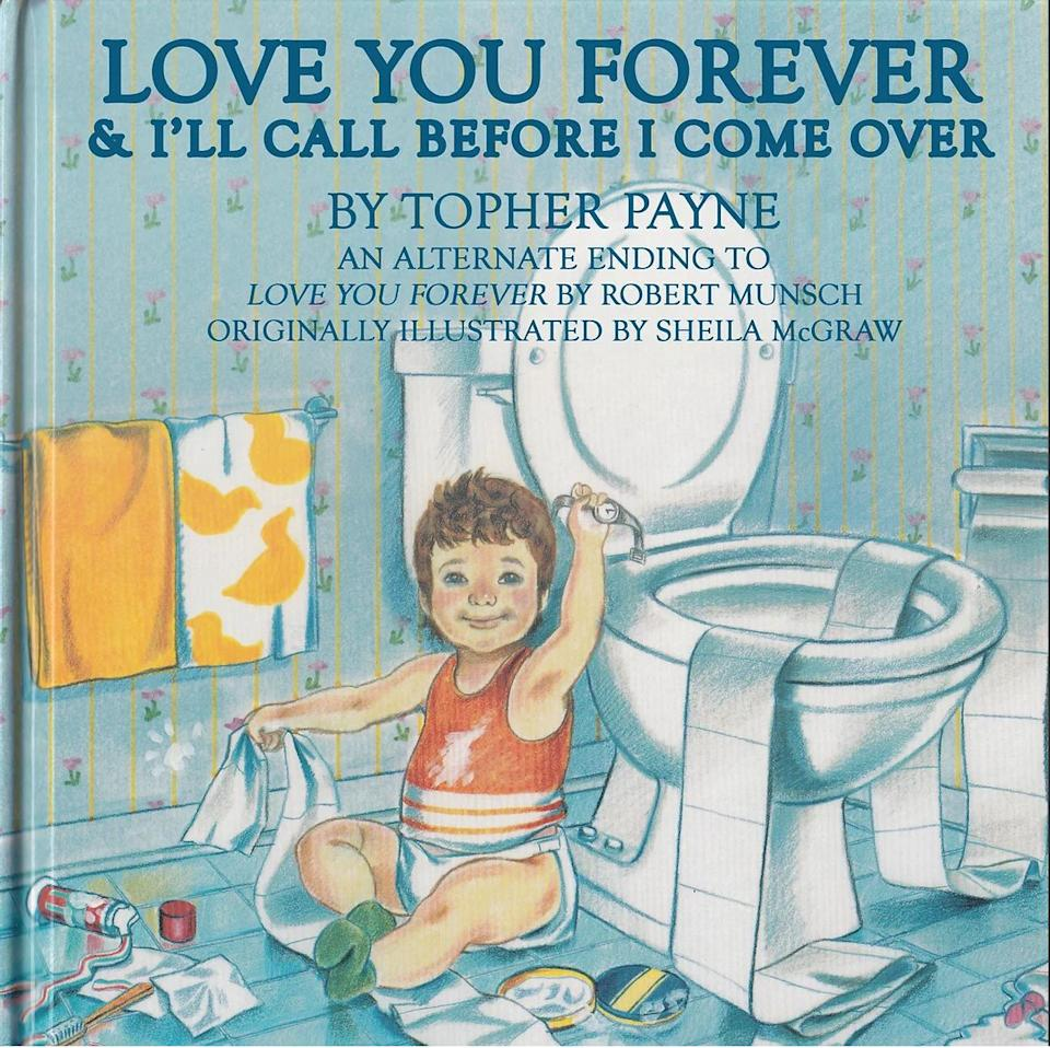 """Topher Payne's version of """"Love You Forever."""" (Photo: Topher Payne)"""