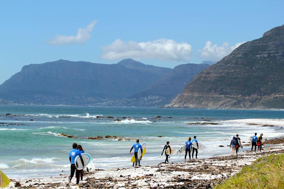 """<p>How about combining a fun surfing adventure with serious qualifications? Ticket To Ride has <a rel=""""nofollow noopener"""" href=""""https://www.tickettoridegroup.com/surf-courses/South%20Africa/surf%20instructor/South%20Africa%20Surf%20Instructor%20Course?self-catered=true"""" target=""""_blank"""" data-ylk=""""slk:a ten-week surf instructor course in South Africa"""" class=""""link rapid-noclick-resp"""">a ten-week surf instructor course in South Africa</a>, where you surf your way from Cape Town to Durban, being taught by top surf coaches. By the end of the course you'll be an International Surfing Association level one instructor (recognised worldwide) with a lifesaving certificate, and Ticket to Ride helps you to find work around the world. From £5,495, excluding flights.<br><i>[Photo: Ticket To Ride]</i> </p>"""