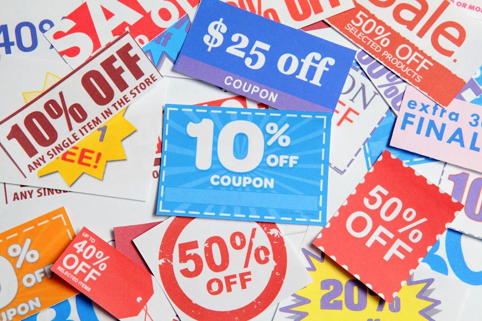 Coupons give customers the reality – or the feeling – of getting a bargain.