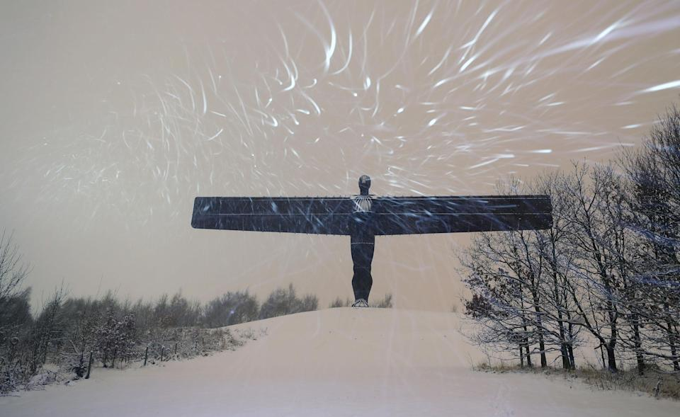 <p>Temperatures dropped to minus 6 in some parts of the country. (PA) </p>