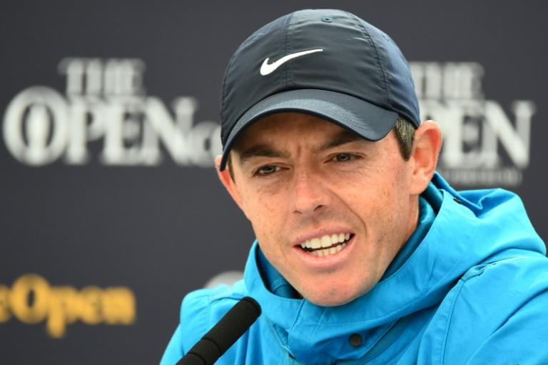 McIlroy is playing a major tournament on home soil for the first time (AFP Photo/ANDY BUCHANAN                       )