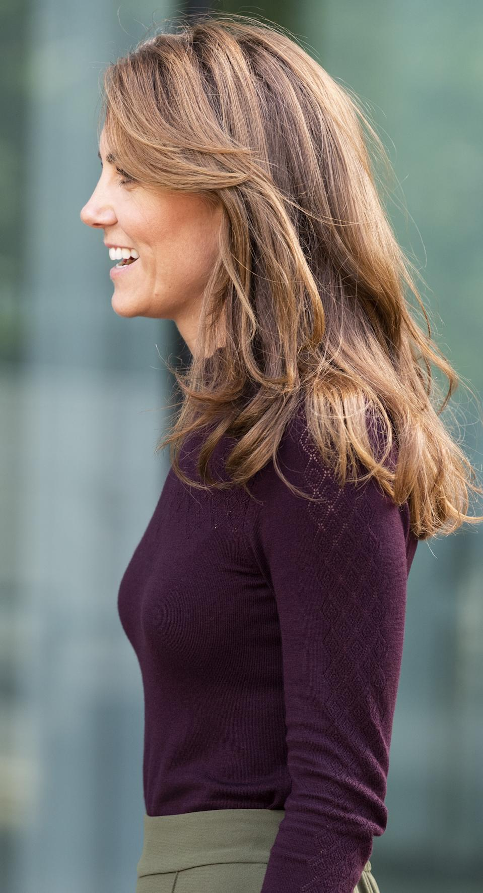 """<h1 class=""""title"""">The Duchess Of Cambridge Visits The Angela Marmont Centre For UK Biodiversity</h1><cite class=""""credit"""">Mark Cuthbert</cite>"""