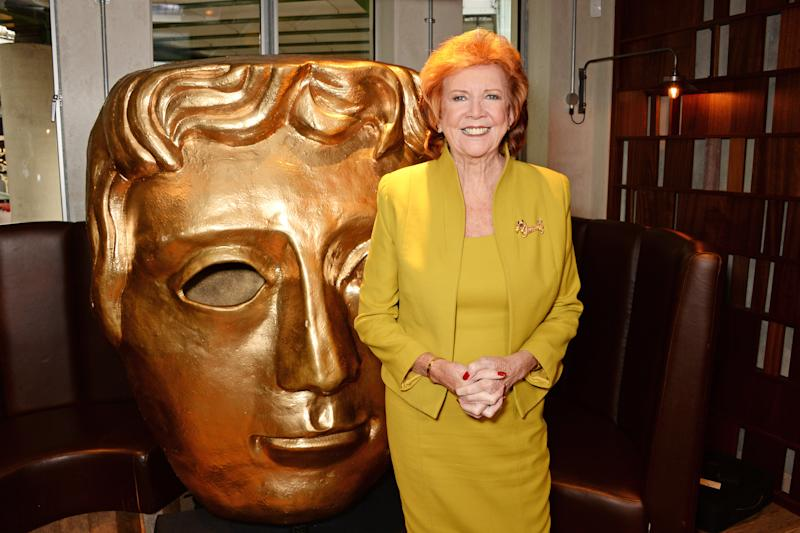 LONDON, ENGLAND - MAY 13: Cilla Black attends a private lunch to celebrate her upcoming BAFTA Special Award hosted by Villa Maria Wines at Rabot 1745 in Borough Market on May 13, 2014 in London, England. (Photo by David M. Benett/Getty Images)