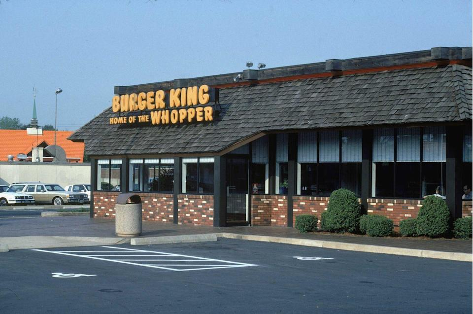 <p>The Home of the Whopper seen here in 1976 was the go-to spot for a date night or after school hangout.</p>