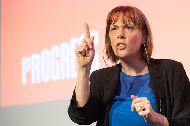 Jess Phillips claims hundreds of men tell her not to stand as Labour leader (PA)