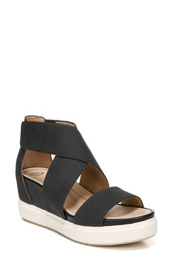 """<p><strong>Dr. Scholl's</strong></p><p>nordstrom.com</p><p><strong>$54.95</strong></p><p><a href=""""https://go.redirectingat.com?id=74968X1596630&url=https%3A%2F%2Fwww.nordstrom.com%2Fs%2Fdr-scholls-sheena-sport-sandal-women%2F5834637&sref=https%3A%2F%2Fwww.oprahdaily.com%2Fstyle%2Fg25893553%2Fbest-sandals-for-women%2F"""" rel=""""nofollow noopener"""" target=""""_blank"""" data-ylk=""""slk:SHOP NOW"""" class=""""link rapid-noclick-resp"""">SHOP NOW</a></p><p>Graphic black and white lend this sporty flatform a sleek edge, while the anatomical footbed and wide straps ensure that problem feet are taken care of. </p>"""