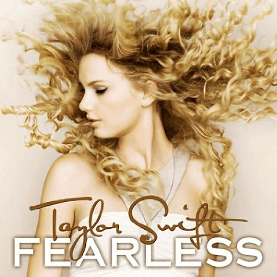 <p>The singer was <em>fearless</em> about flaunting her voluminous curls on her album covers.</p>