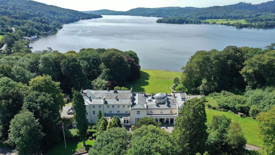 """<p>Arguably the best setting in the Lake District, right on the shores of Windermere, <a href=""""https://www.booking.com/hotel/gb/storrs-hall.en-gb.html?aid=2070929&label=luxury-lake-district-hotels"""" rel=""""nofollow noopener"""" target=""""_blank"""" data-ylk=""""slk:Storrs Hall"""" class=""""link rapid-noclick-resp"""">Storrs Hall</a> is an excellent hotel to take in the views. It has luxurious Lakeside Suites just metres from the water, a 200-year-old Lakeland Stone Boathouse right over the water and elegant main house rooms with beautiful views. </p><p>The luxury hotel is terrific for families as it makes the most of the waterside setting by offering adventures for everyone: paddleboarding, kayaking, canoeing, clay pigeon shooting, archery, axe throwing, shelter building, fire making and marshmallow toasting are all on the menu.</p><p>Storrs Hall will also organise picnics and packed lunches, plus it's the ideal base for wild swimming in Windermere.</p><p><a class=""""link rapid-noclick-resp"""" href=""""https://www.booking.com/hotel/gb/storrs-hall.en-gb.html?aid=2070929&label=luxury-lake-district-hotels"""" rel=""""nofollow noopener"""" target=""""_blank"""" data-ylk=""""slk:CHECK AVAILABILITY"""">CHECK AVAILABILITY</a></p>"""