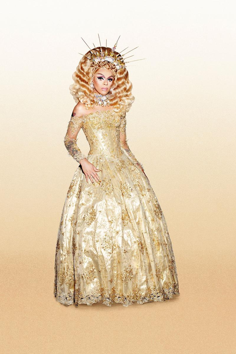 Location: Brooklyn, New York<br /><br />Twitter: @ajaqueen, Instagram: @ajathekween<br /><br />Your edges are officially snatched! Fresh off season nine, the banji bitch of Brooklyn is back to pick up where she left off. Princess Disastah may have erupted from a volcano sis, but Aja's refined and ready to show that she's a force to be reckoned with. The true gagarini will be when Aja hits the runway, leaving everyone gooped and gagged in her wake sis. In a sea of Linda Evangelista's, there's only one Aja.