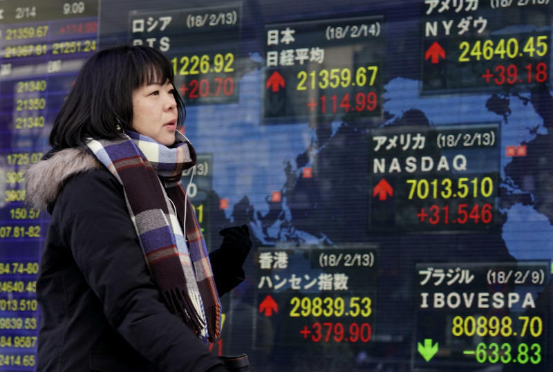 Asian shares mixed ahead of US inflation, Lunar New Year