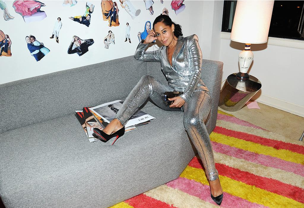 <p>The <em>Black-ish</em> star shimmered at <em>W</em> mag's celebration of its Best Performances portfolio on Thursday. (Photo: Donato Sardella/Getty Images for W Magazine) </p>