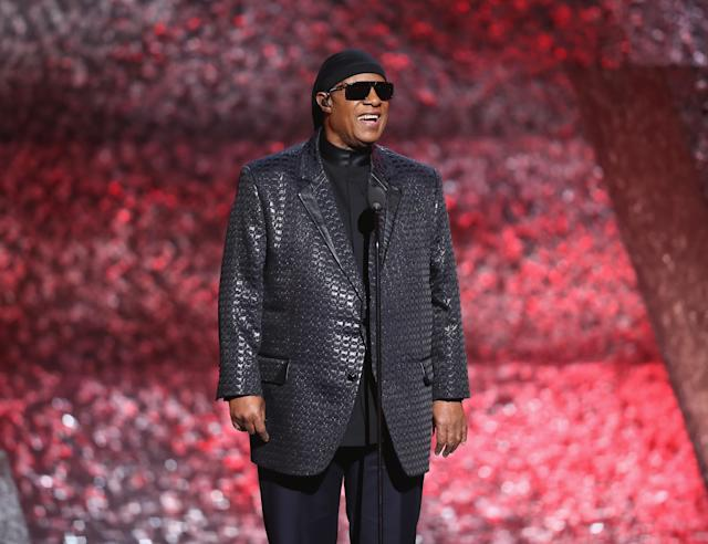 Stevie Wonder (Photo by Rich Polk/Getty Images for The Recording Academy)