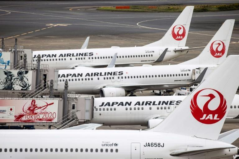 Japan Airlines was up 20 percent in Tuesday trade