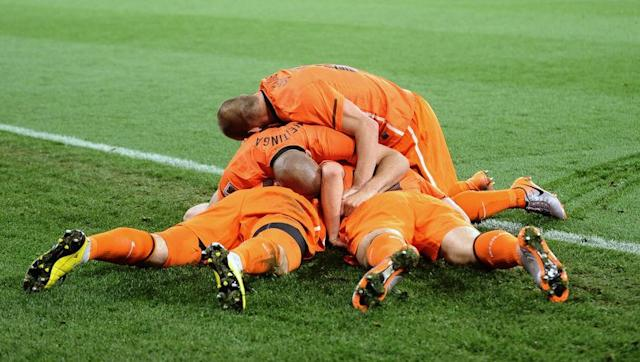 <p>After coming within a penalty shootout of the 1998 final, the Netherlands didn't make the very next tournament in 2002 after losing out to Portugal and the Republic of Ireland in qualifying. </p> <br><p>Following the 'Total Football' era of the 1970s, the Dutch team also missed out on both tournaments in the 1980s and are at risk of not reaching Russia next summer as well.</p> <br><p><strong>Status in 2018:</strong> 3rd in UEFA Group A needing to finish at least 2nd to have any chance</p>