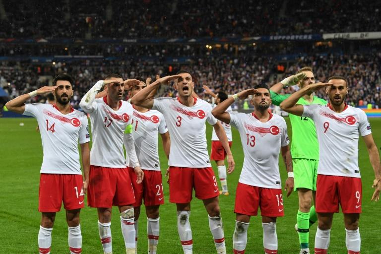 UEFA has opened disciplinary hearings against Turkey over military salutes by its players on the pitch