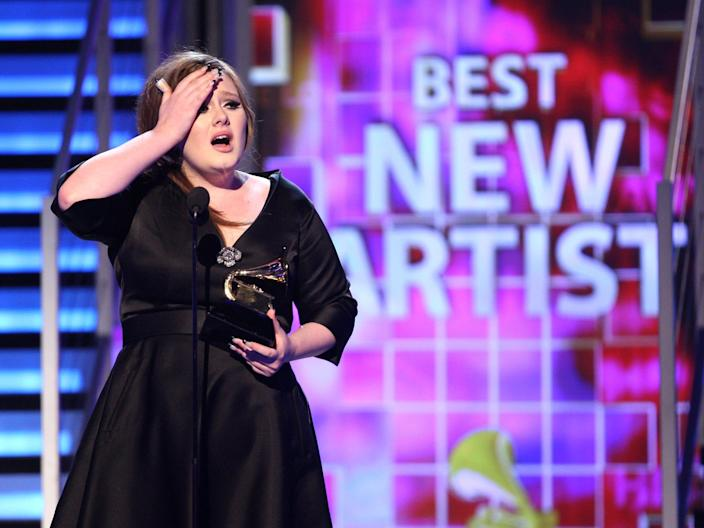 adele best new artist grammys