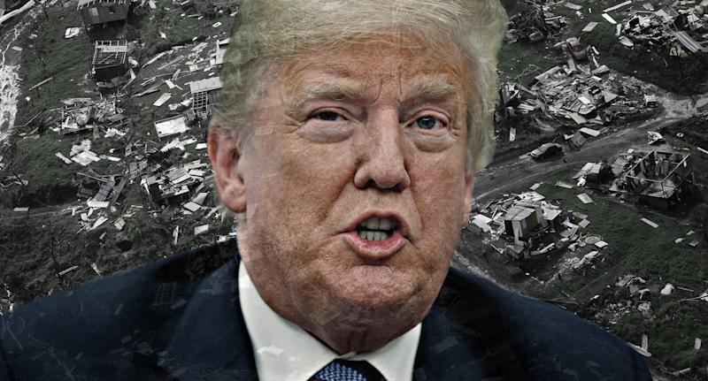 Trump Rejects Puerto Rico Hurricane Death Toll Report