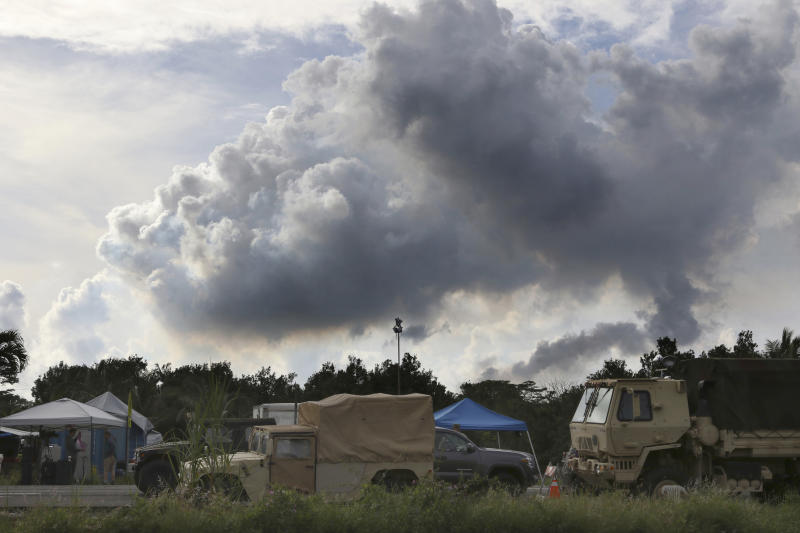 Homeowners scramble as Hawaii volcano spews ash, lava