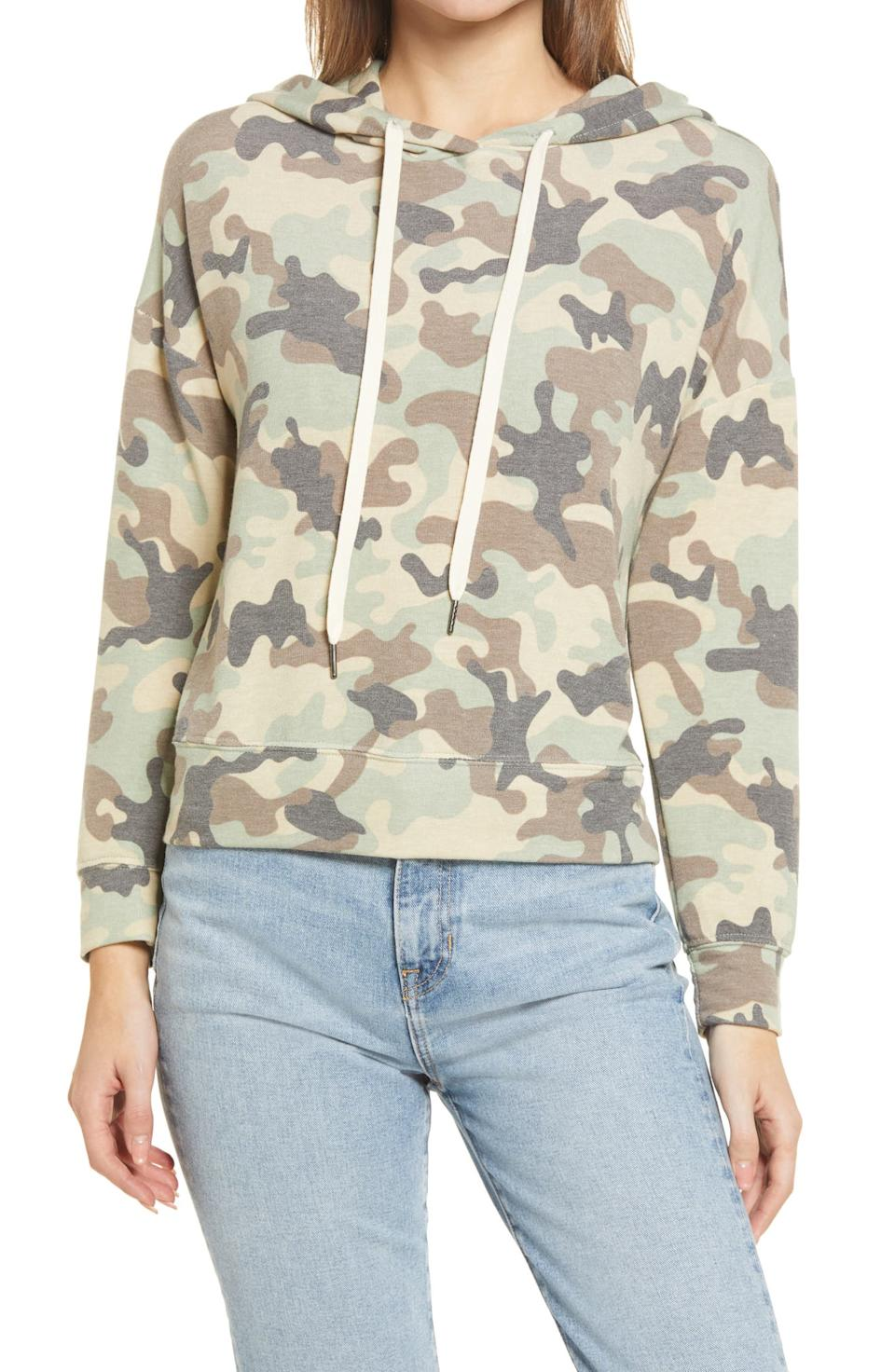 Everleigh Hooded Sweatshirt. Image via Nordstrom.