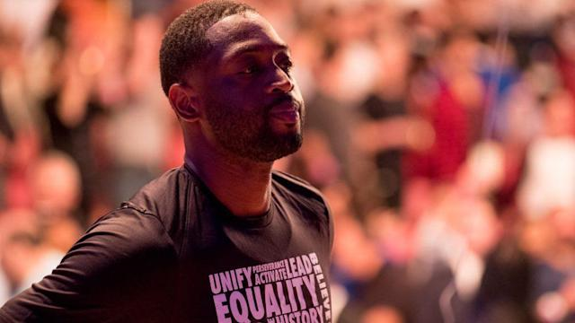 Dwyane Wade's first NBA game was in Philadelphia. Maybe his last, too.