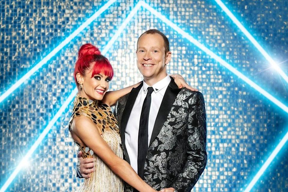 Robert Webb with dance partner Dianne Buswell   (PA)