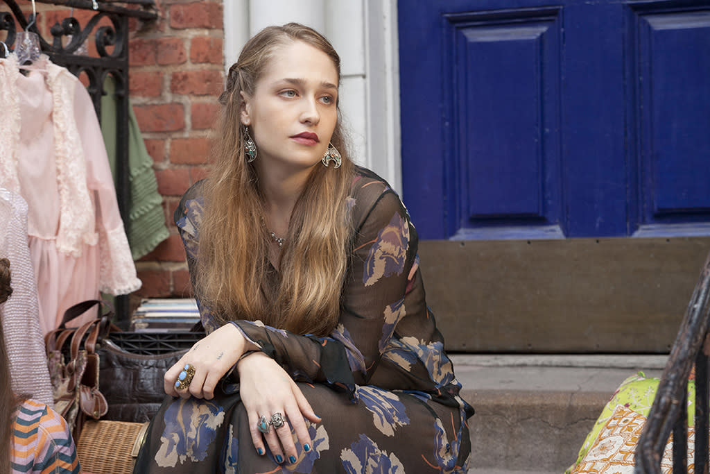 "Jemima Kirke in the ""Girls"" Season 2 episode, ""Bad Friend."""