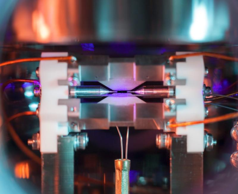 This Breathtaking Photograph Captures A Single Atom Visible To The Naked Eye