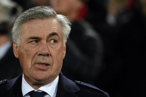 Eyebrows raised: Everton's appointment of Carlo Ancelotti is seen as a coup for the Premier League strugglers