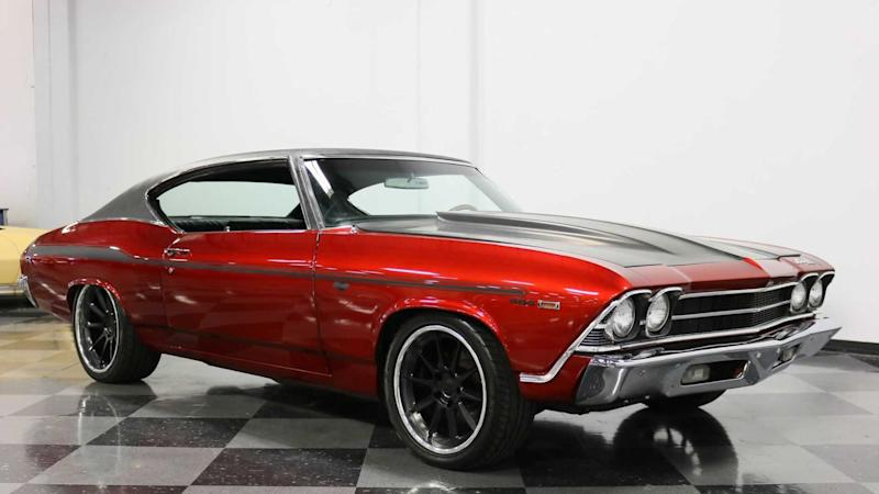 This 1969 Chevrolet Chevelle 454 Is A Mean Looking Restomod