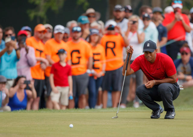 After more than three years, Tiger Woods' fans finally have something to cheer about. (AP)