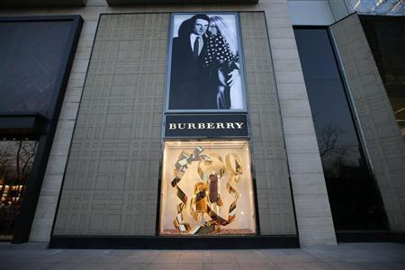 A general view of a Burberry store is seen in Beijing, November 29, 2013. REUTERS/Kim Kyung-Hoon