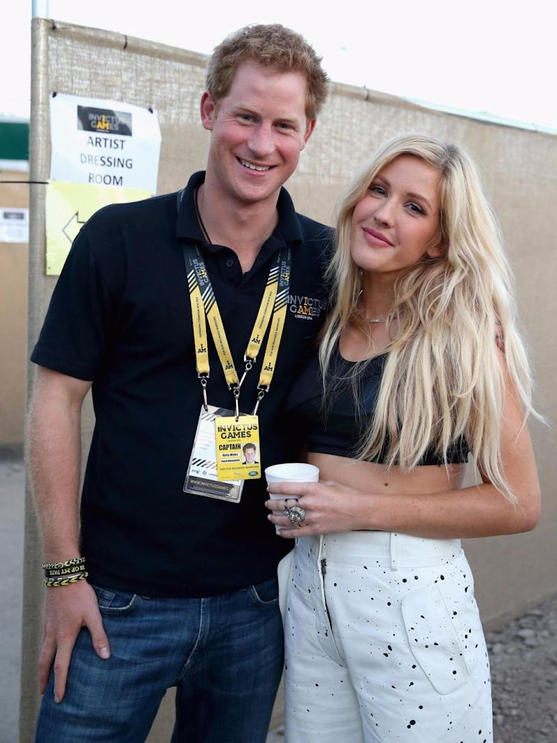 Prince Harry's good friend Ellie Goulding would no doubt be on the top of their guest list. Photo: Getty Images