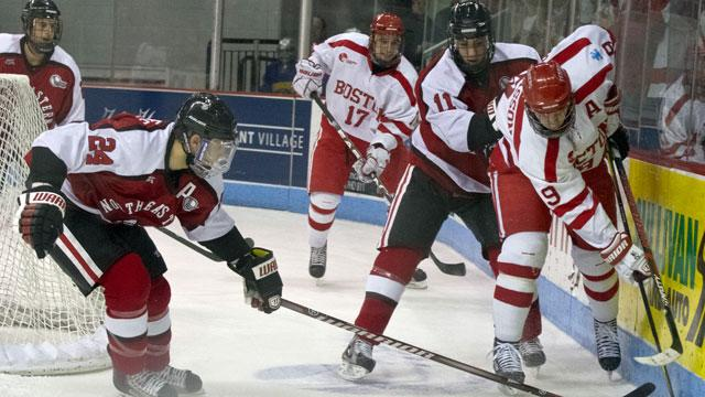 Boston University Ice Hockey Team Slammed for 'Sexual Entitlement' Culture