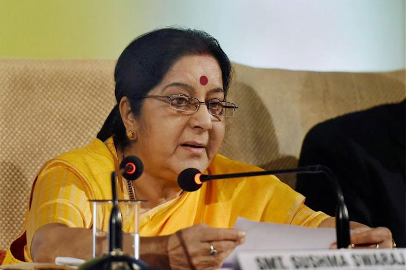 As Sushma Swaraj Lands in Beijing, China Tries Selling Xi's 'Belt and Road' to India