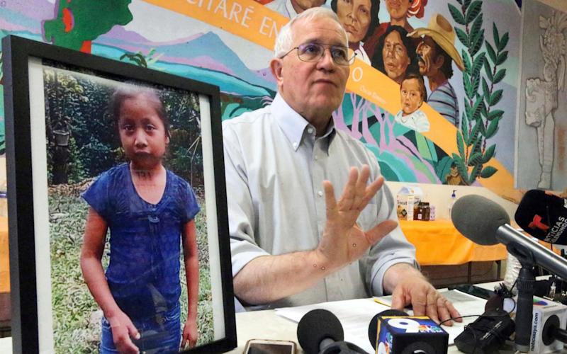 Ruben Garcia, director of Annunciation House, demands an investigation into the death of seven-year-old Jakelin Caal Maquin - The El Paso Times