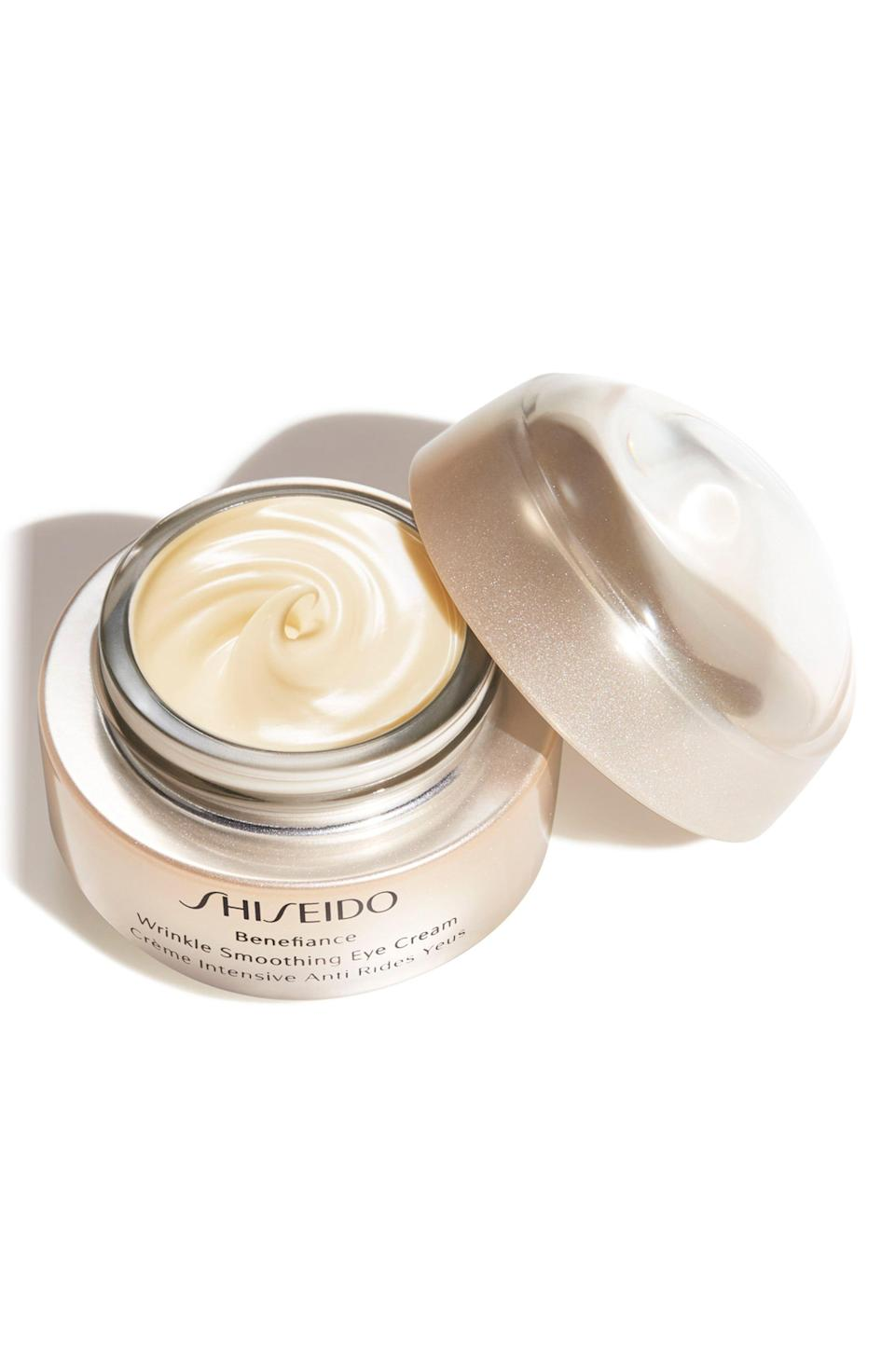 "<p><strong>SHISEIDO</strong></p><p>nordstrom.com</p><p><strong>$70.00</strong></p><p><a href=""https://go.redirectingat.com?id=74968X1596630&url=https%3A%2F%2Fshop.nordstrom.com%2Fs%2Fshiseido-benefiance-wrinkle-smoothing-eye-cream%2F5317192&sref=https%3A%2F%2Fwww.cosmopolitan.com%2Fstyle-beauty%2Ffashion%2Fg20108306%2Fbest-last-minute-mothers-day-gifts%2F"" rel=""nofollow noopener"" target=""_blank"" data-ylk=""slk:Shop Now"" class=""link rapid-noclick-resp"">Shop Now</a></p><p>Her under-eye area will thank you when she uses this super-lightweight eye cream. It'll moisturize, minimize fine lines, and reduce puffiness.</p>"