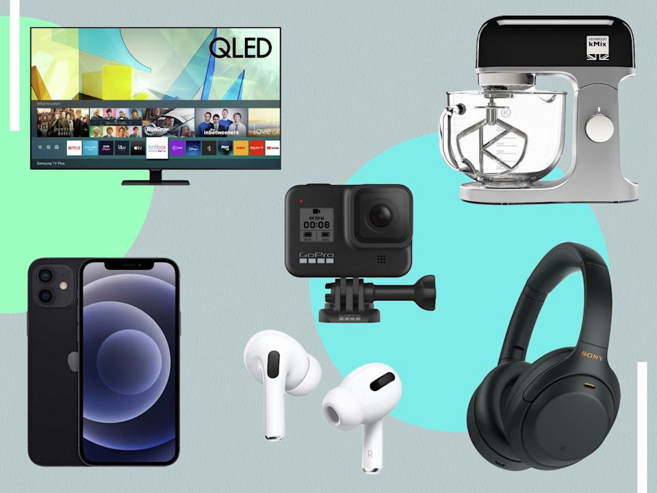 <p>Whether you're in the market for a new pair of headphones or a home appliance, our curated round-up will help you bag a bargain</p> (The Independent)
